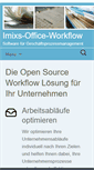 Mobile Preview of office-workflow.de